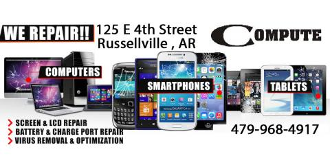 Computer / Laptop / Cellphone / Tablet Repair, Russellville, Arkansas