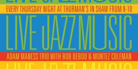 Hot Jazz Tonight - Adam Maness Trio, St. Louis, Missouri