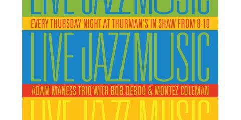 Hot Jazz - Adam Maness Trio, St. Louis, Missouri