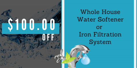 Get $100 Off a Whole-Home Water Softener, Boise City, Idaho