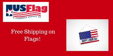 Free Shipping on Flags, Plano, Texas