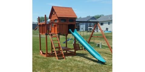 3 Great Benefits of a High-Quality, Wooden Swing Set, Urbandale, Iowa