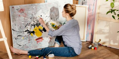 The Do's & Don'ts of Storing Paintings, Flower Mound, Texas