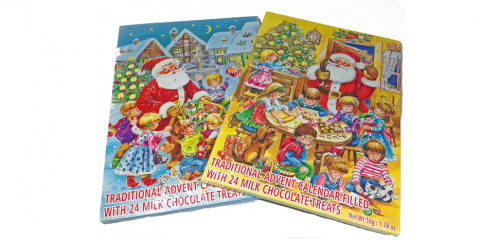 Pick Up an Advent Calendar at Christkindlmarkt 2019, Port Jervis, New York