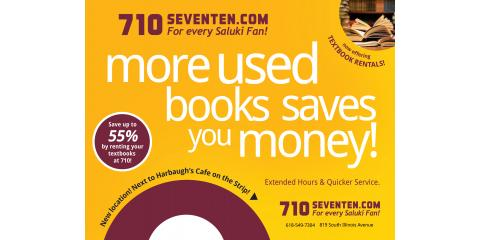 You've been to class, get your SIU books before their gone, Carbondale, Illinois