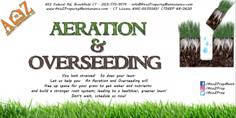 What can Aeration do for your lawn?, Brookfield, Connecticut