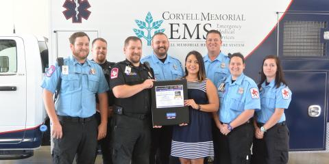 Coryell EMS Receives American Heart Association Award  , Gatesville, Texas