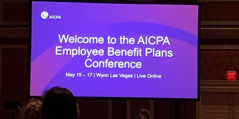 Starla Hughes, Audit Manager Attends AICPA Employee Benefits Plan Conference, Greensboro, North Carolina