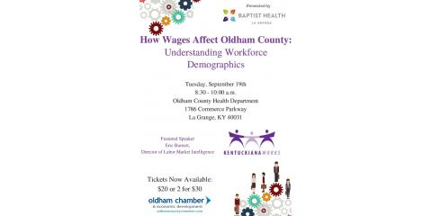How Wages Affect Oldham County: Understanding Workforce Demographics, La Grange, Kentucky
