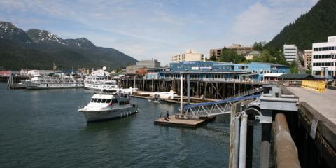 Enjoy Fresh Alaskan Seafood at Alaska Fish & Chips Company, Juneau, Alaska