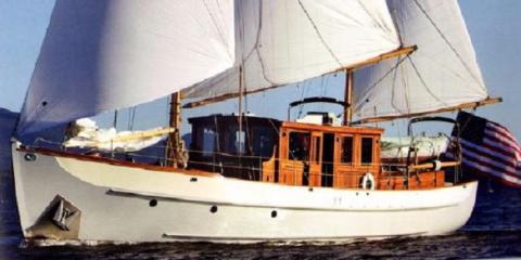 62' Alden Motor Sailer, New Port Richey, Florida
