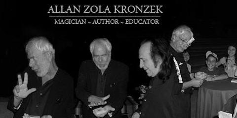 Artful Deceptions Starring Allan Zola Kronzek Saturday, April 21st 1:00 PM LIVE MAGIC EVENT, Brookhaven, New York