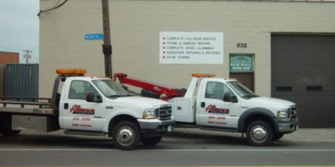 Alliance Collision Inc., Auto Towing, Services, Rochester, New York