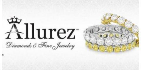 "Find Pre-Set Diamond Engagement Rings She'll Say ""Yes!"" to at Allurez in NYC, Manhattan, New York"