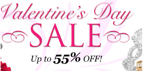 Valentine's Day Sale! Give The Love of Your Life High-Quality, Heart-Shaped Diamond Jewelry From Allurez, Manhattan, New York