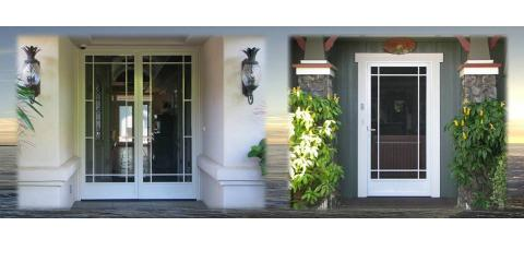 Get Your Heavy Duty Screen Doors From Aloha Screen Doors, Wailuku, Hawaii