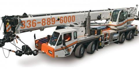 Benefits of Hiring a Professional Crane Service for Construction Projects, High Point, North Carolina