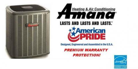 Save 10% on a NEW Amana Air Conditioner, Ogden, New York