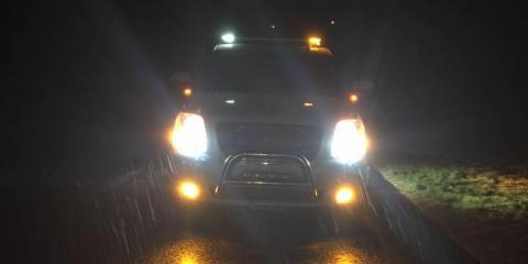 Amber & White Safety Lights, LED Lighting, Services, Kensington, Connecticut