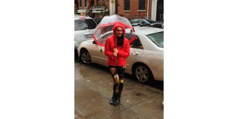 A Windproof Umbrella for Winter Storms, Manhattan, New York