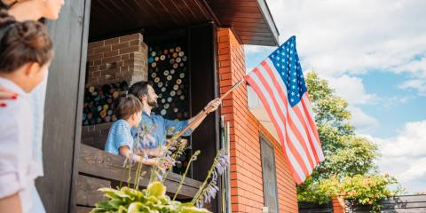 How to Display an American Flag for Independence Day , Plano, Texas