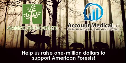 Join Us in Raising One-Million Dollars for American Forests Nonprofit, Anoka, Minnesota