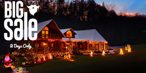 Christmas Eve/ Christmas Day Flash Sale, Gatlinburg, Tennessee
