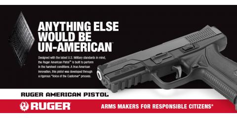 RUGER Anything Else Would Be UN-AMERICAN, Richmond, Kentucky