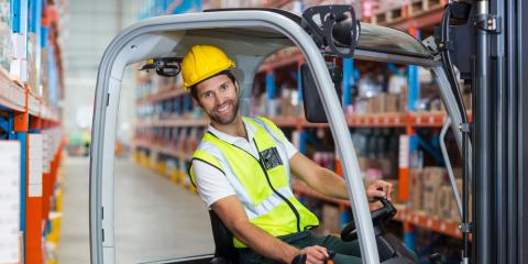 Top 3 Benefits of Mitsubishi® Forklifts, Anchorage, Alaska