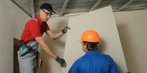 5 Types of Drywall , Andover, Minnesota