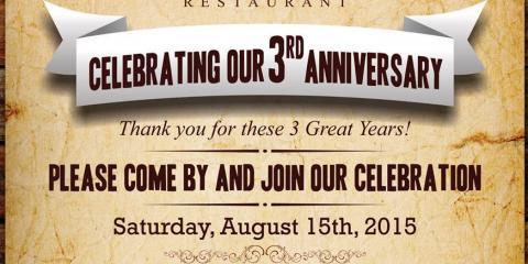 La Adelita Restaurant 3rd Year Anniversary Queens New York