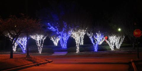 hire anointed landscaping to set up the perfect christmas light installation burleson texas