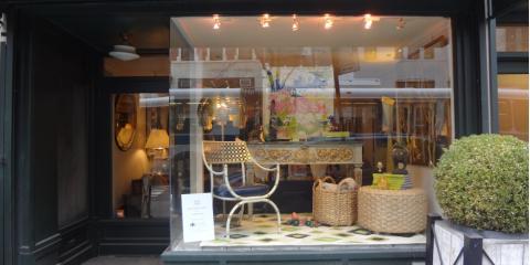 Mecox Antique Furniture Store's 'Spirit of Spring Designer Windows' Event Continues With Amanda Nisbet!, Manhattan, New York