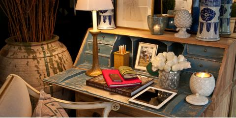 Reinvigorate Your Living Space With Vibrant Furniture and Antiques From Treillage, Manhattan, New York