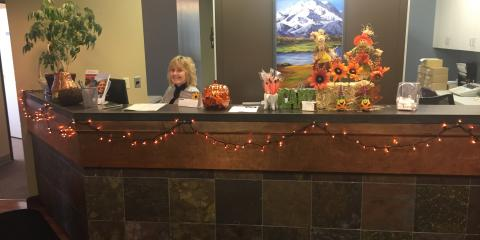 It's a beautiful fall day at Anchorage Orthodontics Associates!, Anchorage, Alaska