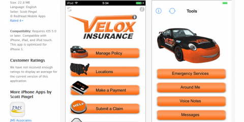 Insurance Agency, Velox, Has New App Now Available!, Sandy Springs, Georgia