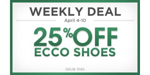 25% Off on Ecco Golf Shoes, Manhattan, New York