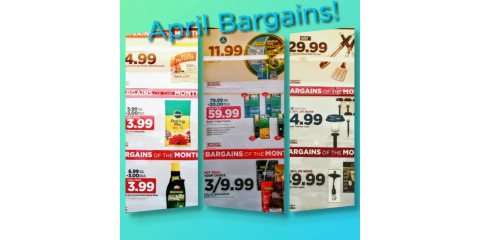 April: Bargains of the Month, Bourbon, Missouri