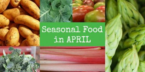 Eating April's Seasonal Best For Your Teeth, Middlebury, Connecticut