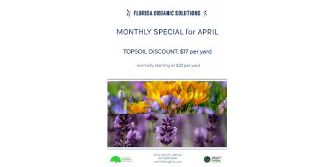 April Monthly Special, Brandon, Florida