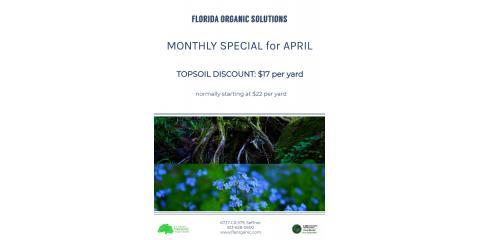 April Topsoil Special, Brandon, Florida