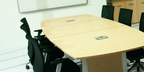 break down the cube walls with office desks from honolulu's office