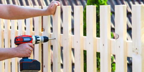 A Guide to Wood Fence Installation, Including Tools & Building Materials, Sherwood, Arkansas