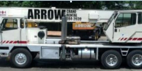 Arrow Crane Rental, Cranes, Shopping, Cincinnati, Ohio