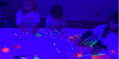 Book a Glow-in-the-Dark Birthday Party for Your Child , Remington, Ohio