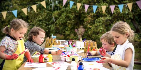 3 Reasons to Celebrate a Kid's Birthday With a Paint Party, ,