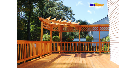 Custom Designs, Deck Restoration, Repairs, & Maintenance all from DeckMaster, Gaithersburg, Maryland