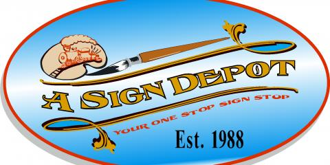 A Sign Depot, Custom Signs, Services, Newtown, Connecticut