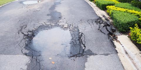 4 Signs Your Asphalt Driveway Needs Repairs, Anchorage, Alaska