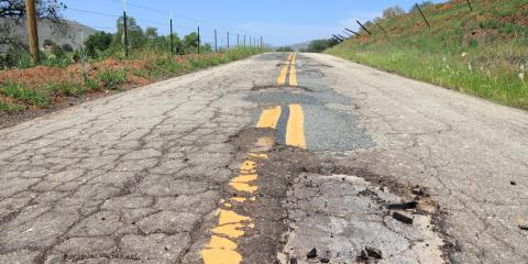 What Causes Alligator Cracks in Asphalt?, Montgomery, New York